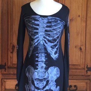 Skeleton Dress (Perfect for Halloween!) Sz Small